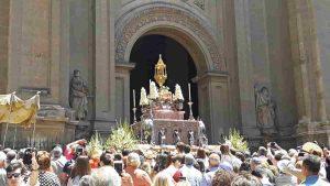 Procesión Corpus Christi Granada