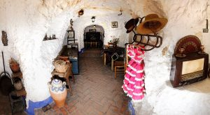 Cuevas del Sacromonte granadino
